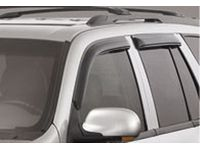 GMC Envoy XL Side Window Weather Deflectors