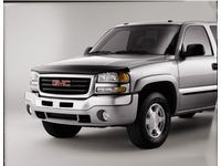 GMC Sierra 1500 Molded Hood Protector,Low Profile,Color:Smoke; - 12499133