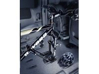 Pontiac Montana Roof-Mounted Bicycle Carrier - Wheel Mount,Note:Interior Mounted; - 12495683