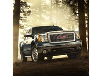 GMC Sierra 3500 HD Molded Hood Protector,Color:Silver (59U); - 19172042