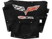 Chevrolet Underhood Liner,Note:Crossed-Flag and Z06 Logo,Use with Underhood Lamp; - 19214019