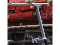 GMC Sierra 3500 HD Ladder Rack by Tracrac®,Note:Single Cross Bar; - 19299112