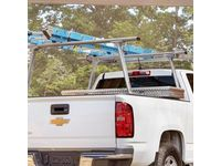 GMC Sierra 3500 HD Complete Rack Ladder Rack by TracRac®,Note:With 2 Cross Bars; - 19299115