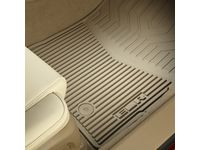 Cadillac ELR Front and Rear All-Weather Floor Mats in Cashmere with ELR Logo - 22956480