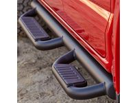 GM Crew Cab 3-Inch Off-Road Assist Steps in Black - 22929606