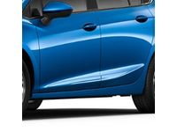 Chevrolet Cruze Front and Rear Smooth Door Moldings in Kinetic Blue Metallic - 84207348