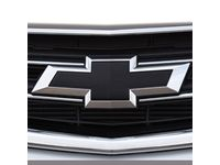 Chevrolet Impala Front and Rear Bowtie Emblems in Black - 23287538
