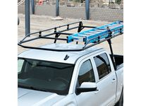 GMC Sierra 3500 HD Steel Full-Frame Ladder Rack by TracRac a Division of Thule - 19354860
