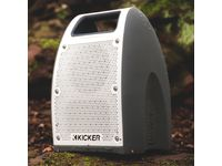 Chevrolet Silverado 2500 HD Bullfrog® BF400 Portable Bluetooth® Waterproof Speaker in White/Gray by Kicker® - 19367000