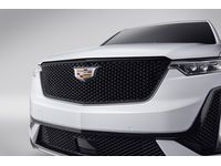 Cadillac XT6 Grille in Gloss Black with Black Surround and Cadillac Logo - 84219508