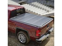 GMC Sierra 1500 Standard Box Quad-Fold Hard Tonneau Cover by Fold-a-Cover in Black - 19302797