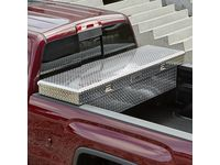 GMC Sierra 3500 HD Cross Bed Aluminum Tool Box with Brand Logo - 19170990