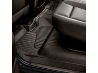 GMC Sierra 2500 HD Crew Cab Second-Row Interlocking Premium All-Weather Floor Liner in Cocoa - 23237403