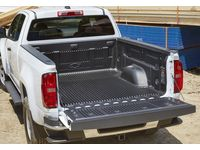 Chevrolet Colorado Bed Liner with Bowtie Logo (for Long Bed Models) - 23258995