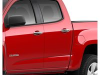 Chevrolet Colorado Front and Rear Door Handles in Chrome - 23319871