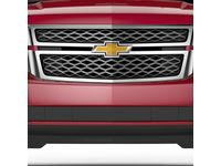 Chevrolet Suburban 3500 HD Grille in Chrome Mesh with Bowtie Logo - 84505387