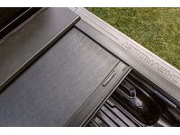 GMC Sierra 1500 Standard Box Retractable Tonneau Cover in Black by Roll-N-Lock - 19333148