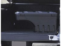 GMC Sierra 3500 HD Passenger Side Swing-Out Tool Box in Black by UnderCover™ - 19332690