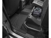 Chevrolet Colorado Extended Cab Second-Row Interlocking Premium All-Weather Floor Liner in Jet Black - 84708341