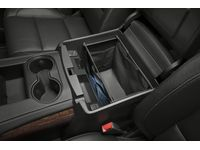GM 22926859 Front Center Console Organizer in Black with Removable Tote - 1