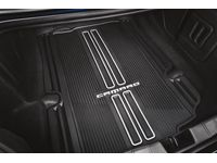 Chevrolet Camaro Premium All-Weather Cargo Area Mat in Jet Black with Camaro Script (for Coupe Models) - 23412235