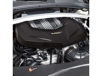 Cadillac V8 Engine Cover in Carbon Fiber - 12672524