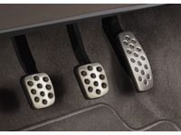 Chevrolet Cruze Manual Transmission Pedal Cover Package in Stainless Steel and Black - 39042385