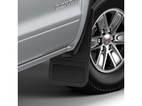 GMC Sierra 3500 HD Front Flat Splash Guards in Anthracite - 22894862