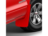 GMC Sierra 3500 HD Front Molded Splash Guards in Cardinal Red - 23238774