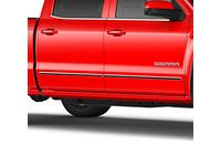 GMC Sierra 2500 HD Front and Rear Door Moldings in Chrome - 22775459
