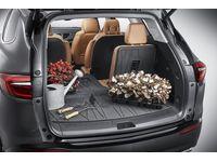 Buick Enclave Integrated Cargo Liner in Ebony with Buick Logo - 84569917