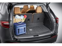 Buick Enclave Premium All-Weather Cargo Area Mat in Ebony with Buick Logo - 84205920