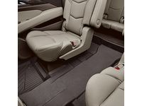 Cadillac Escalade Third-Row One-Piece Premium All-Weather Floor Liner in Cocoa - 84327944