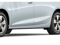 Chevrolet Cruze Front and Rear Smooth Door Moldings in Summit White - 84207333