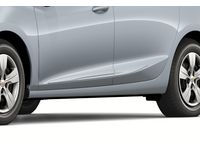 Chevrolet Cruze Front and Rear Smooth Door Moldings in Silver Ice Metallic - 84207338