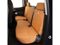 Chevrolet Silverado 3500 HD Carhartt Double Cab Rear Full Bench Seat Cover Package in Brown - 84277447