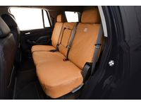 Chevrolet Silverado 3500 HD Carhartt Second-Row Bucket Seat Cover Package in Brown - 84416771