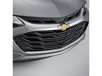 Chevrolet Cruze Grille in Black with Chrome Surround and Bowtie Logo - 42679306