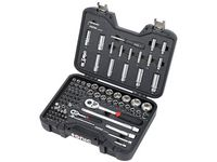 Buick 94-Piece Tool Kit in 1/4-Inch and 1/2-Inch Drive Socket Set in Mobile Case by SONIC™ Tools - 19370711