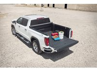 GMC Sierra 1500 Standard Bed Soft Roll-Up Tonneau Cover in Black by Advantage - 19416980