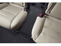 Cadillac XT6 Third-Row Premium Carpeted Floor Mat in Jet Black for Models with Second-Row Captain's Chairs - 84459916