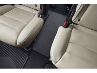 Cadillac XT6 Third-Row One-Piece Premium All-Weather Floor Mat in Jet Black (For models with Second-Row Captain's Chairs) - 84220182