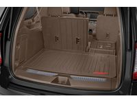 Chevrolet Camaro Integrated Cargo Liner in Teak with GMC Logo - 84445541