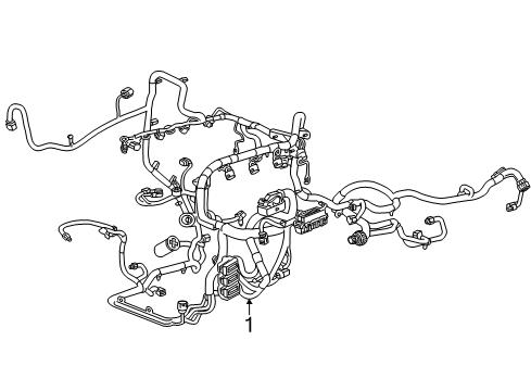 wiring harness for 2014 gmc sierra 2014 gmc sierra 1500 wiring harness parts listing  2014 gmc sierra 1500 wiring harness