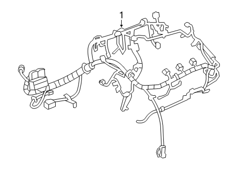 2013 chevrolet malibu engine diagram 2013 chevrolet malibu wiring harness parts listing  2013 chevrolet malibu wiring harness
