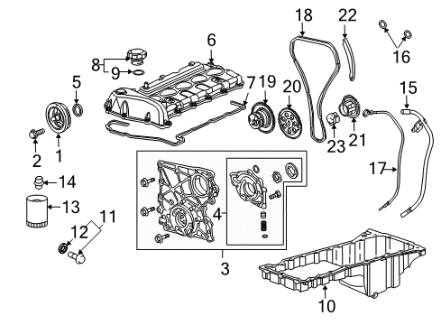 GM 12552947 Connecting Rod Parts//Engine Connecting Rod Bolt