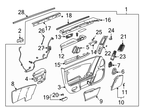 Chevrolet 25799901 Indicator on corvette grand sport engine diagram