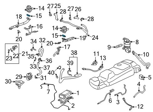 gm 24507568 genuine gm gasket 2000 buick lesabre suspension diagram