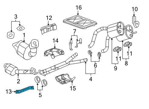 Gm 25813596 Shield on corvette grand sport engine diagram