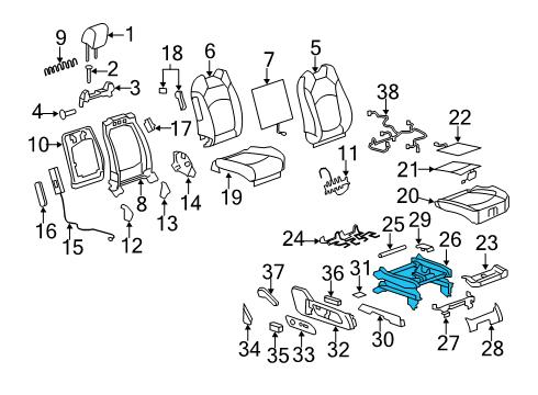 2009 Gmc Acadia Engine Diagram